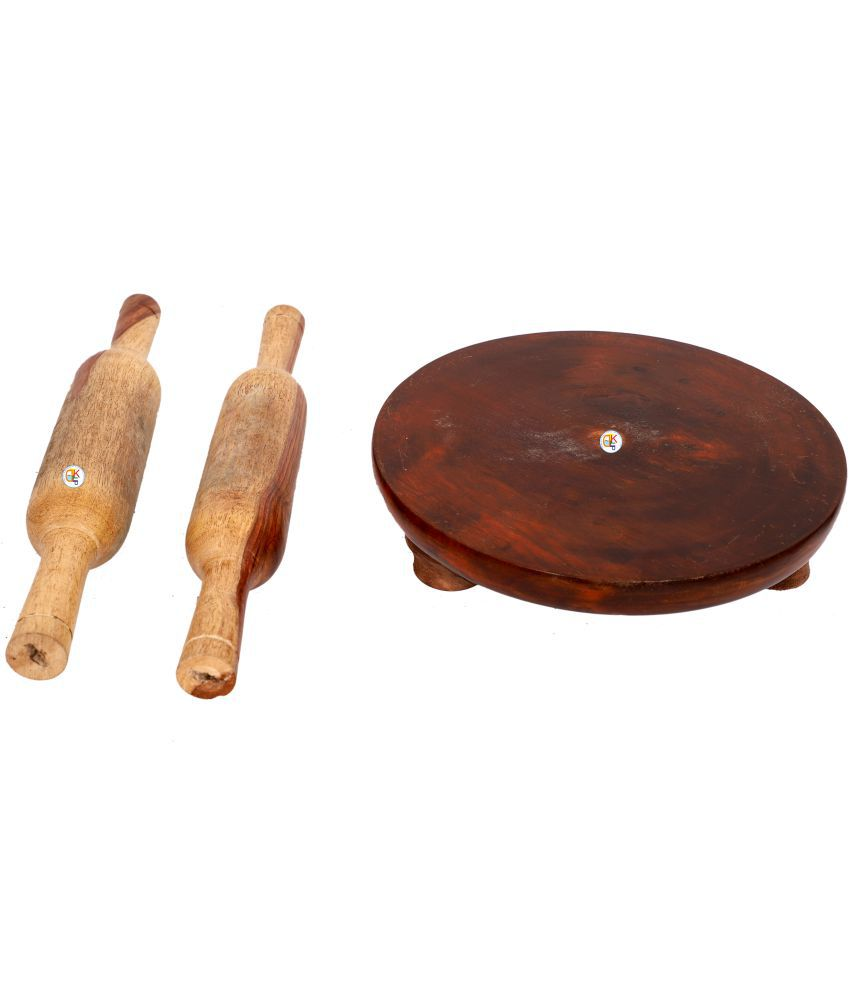 KDT Wooden Rolling Pin Combo 3 Pc