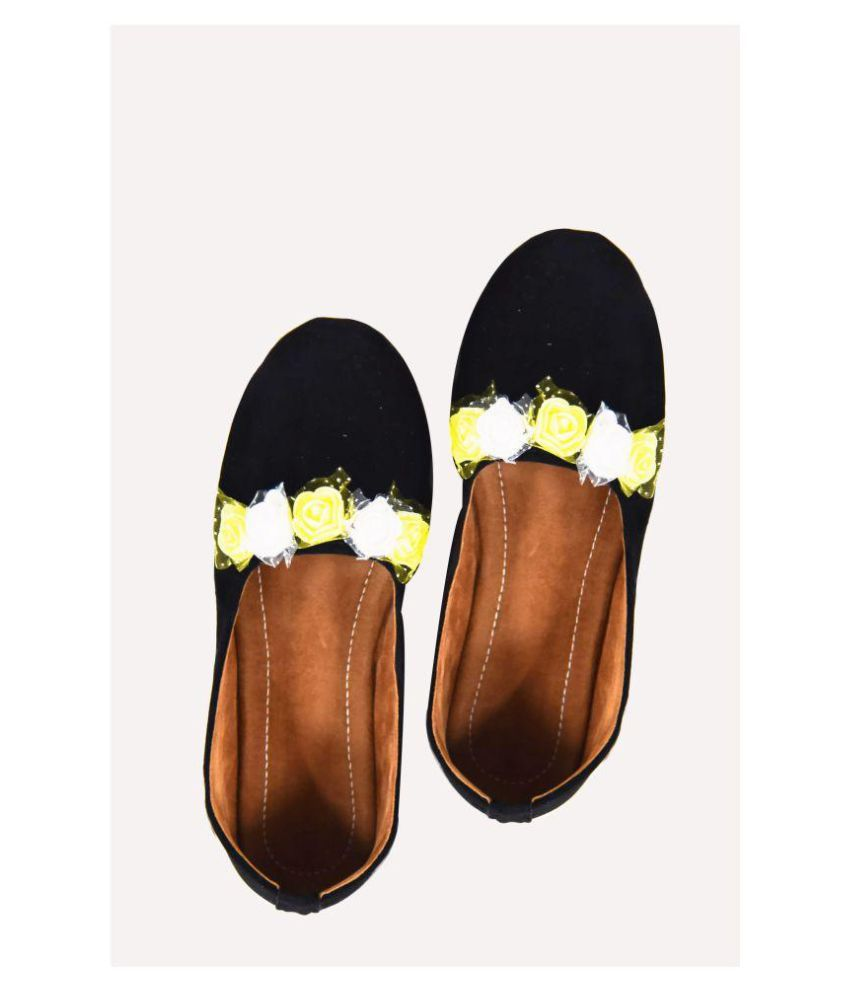 Decot Paradise Black Ethnic Footwear