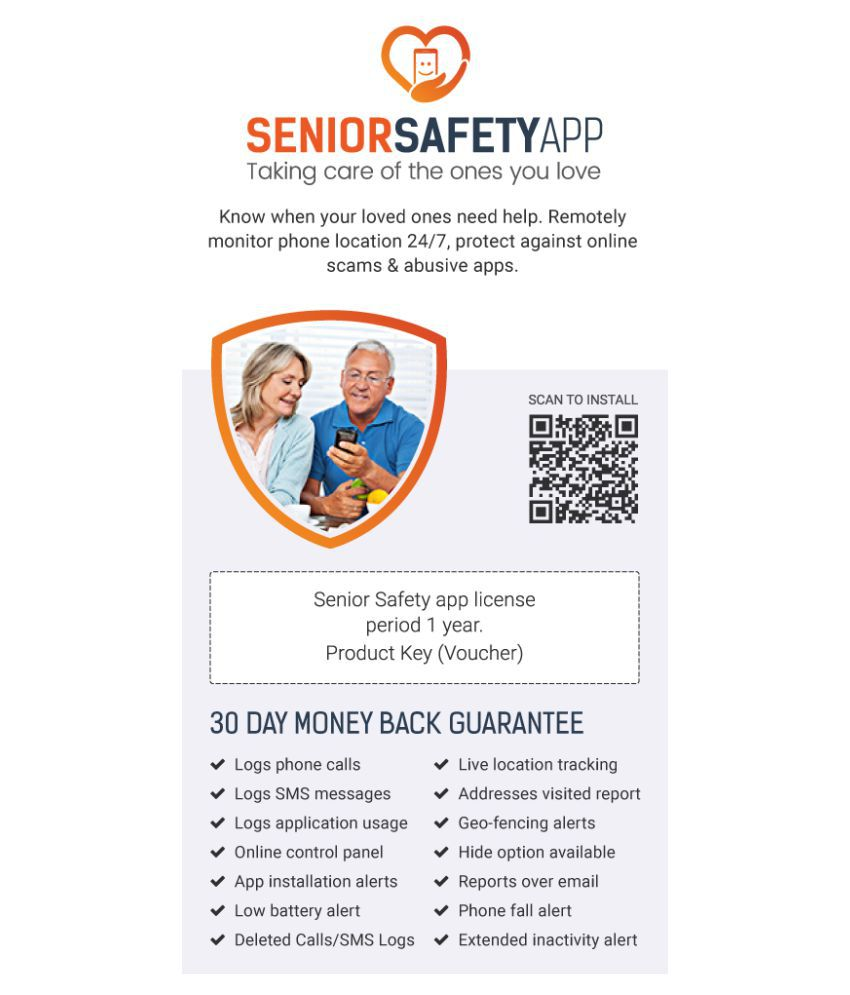 Senior Safety App Android 32/64 Bit ( Scratch Card ) - Buy