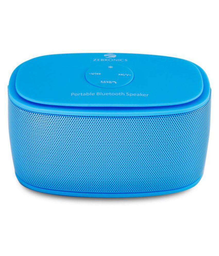 Zebronics Galaxy Portable Bluetooth Speaker