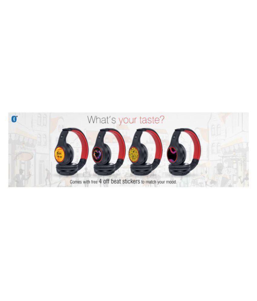 709e9ba3384 iBall Musi Sway BT01 Over Ear Wireless Headphones With Mic - Buy ...