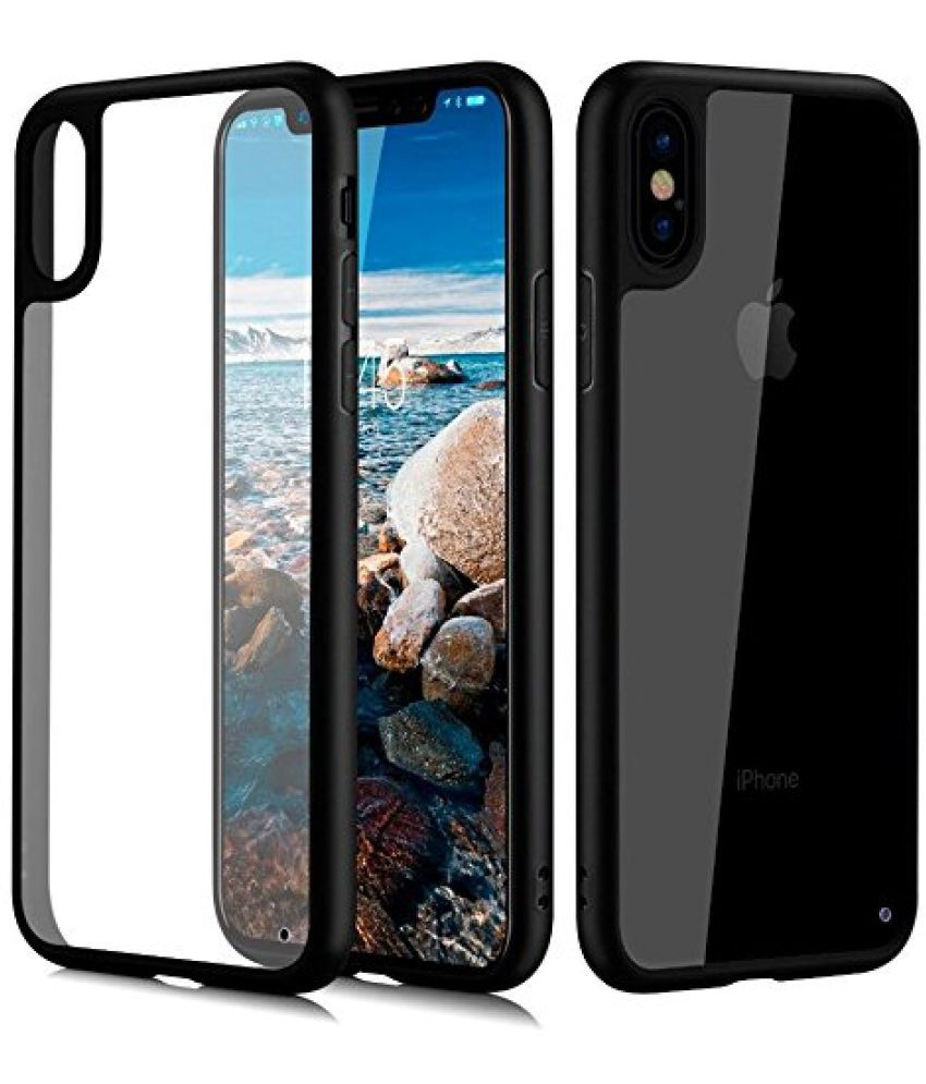 Apple iPhone X Bumper Cases B.kcreationsz - Black