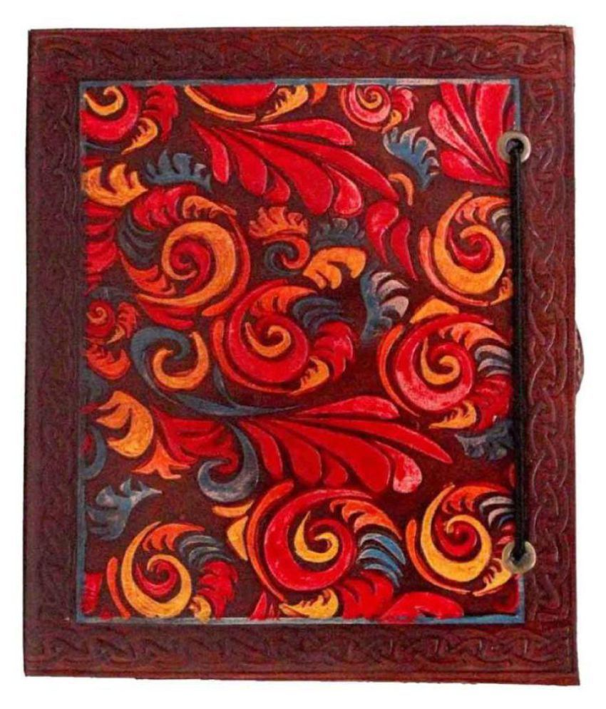 Mangalmurtihandicrafts A5 Diary  (Handcrafted 100% Pure Leather, Multicolor)