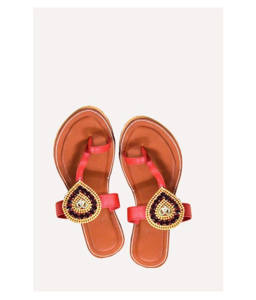 Magnus Multi Color Ethnic Footwear