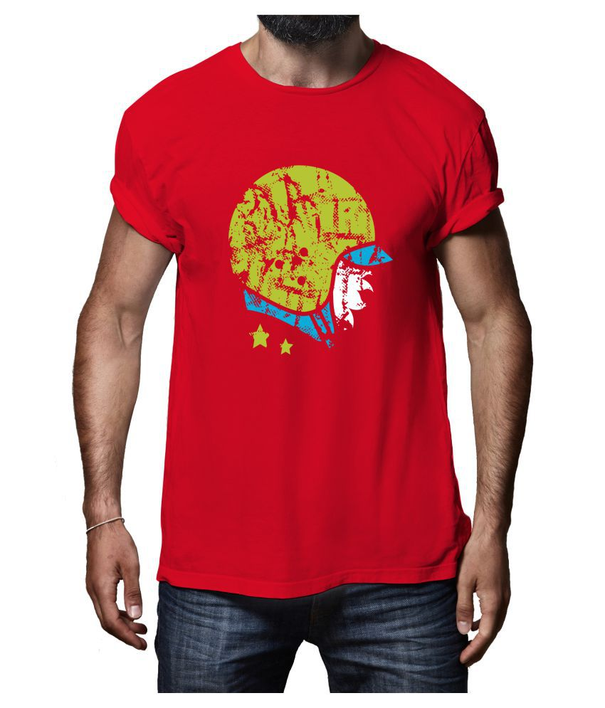 Rappersshop Red Round T-Shirt