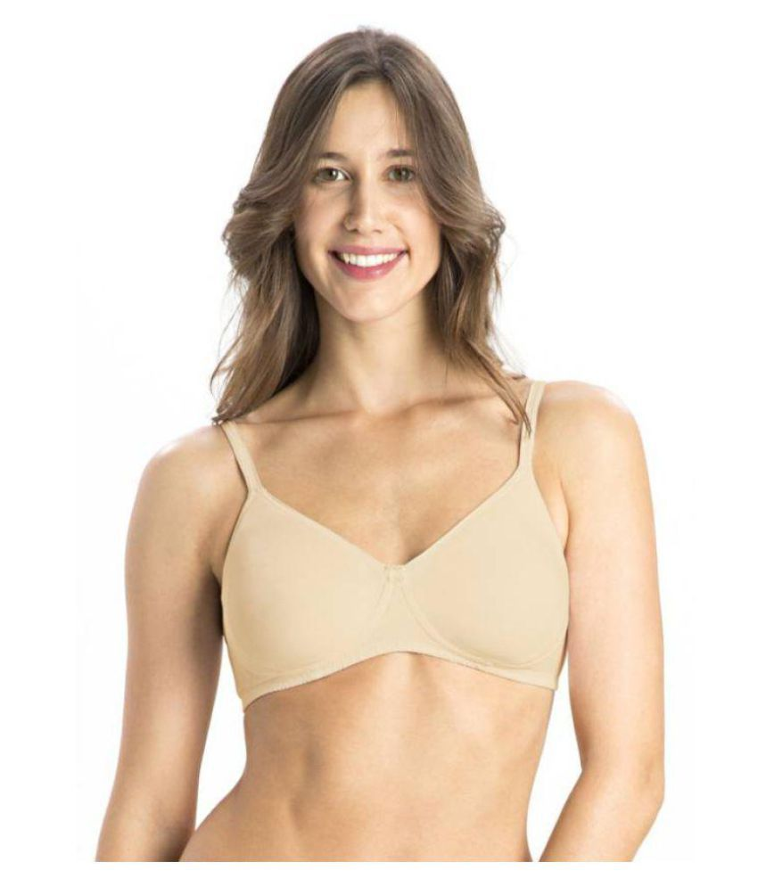 HOBBY LINGERIE Cotton Teenage Bra - Beige