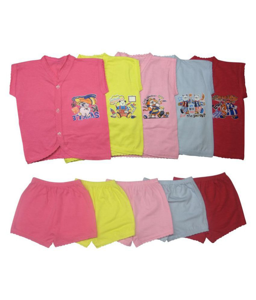f275f00b5c03 New born baby dress 0-2years (pack of 5) Baby Combo Dress - Buy New born  baby dress 0-2years (pack of 5) Baby Combo Dress Online at Low Price -  Snapdeal