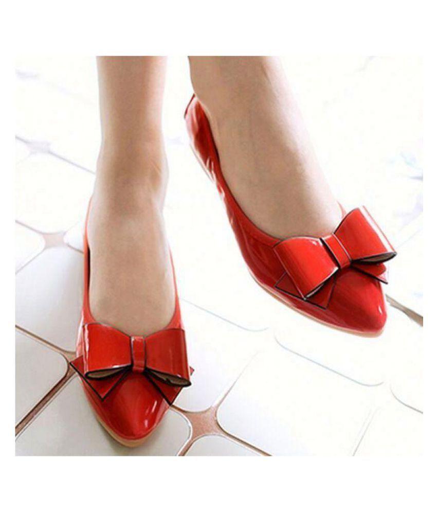 PKKART Red Ballerinas