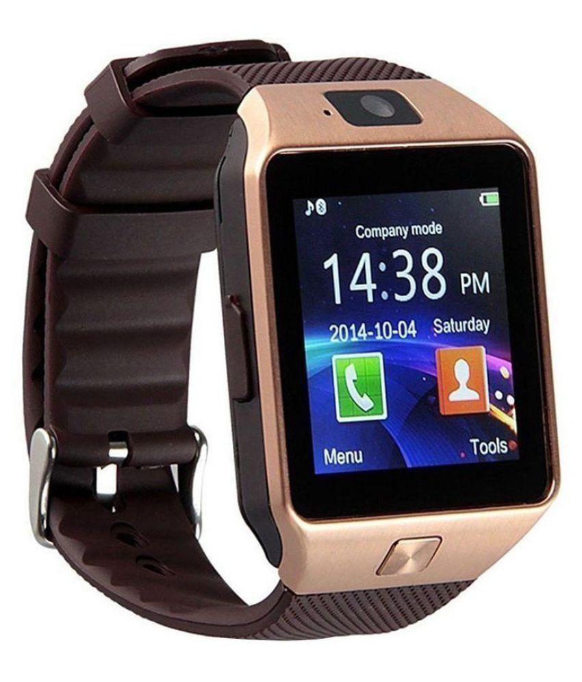 TRASS DZ09 Bluetooth With Sim & TF Card Slot Smart Watches