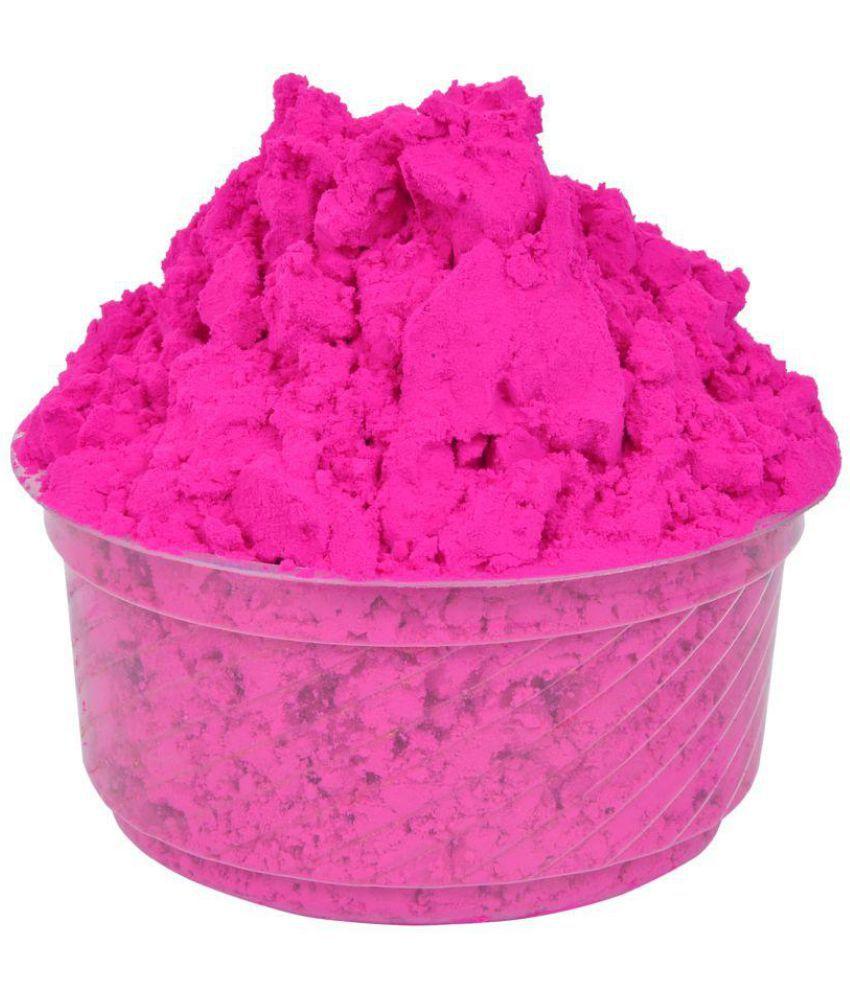 Holi Drishti Pink Colour Holi Gulal Organic Holi Item (1000 gms) -Pack of 1