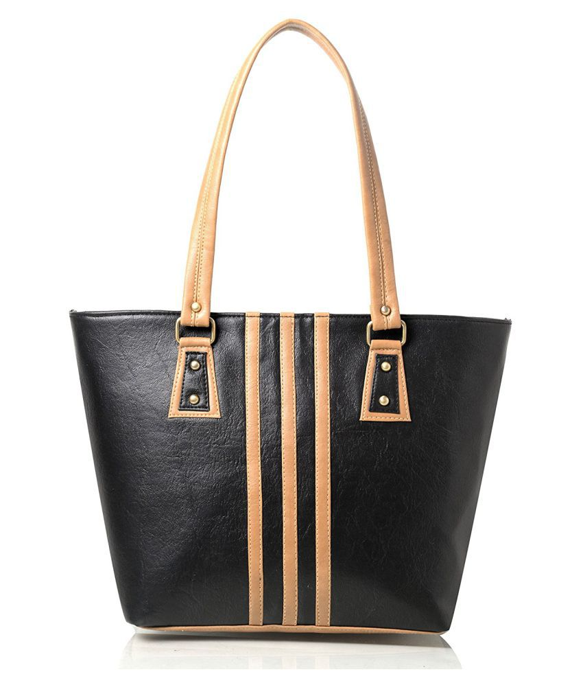 Mammon black Rexin Shoulder Bag