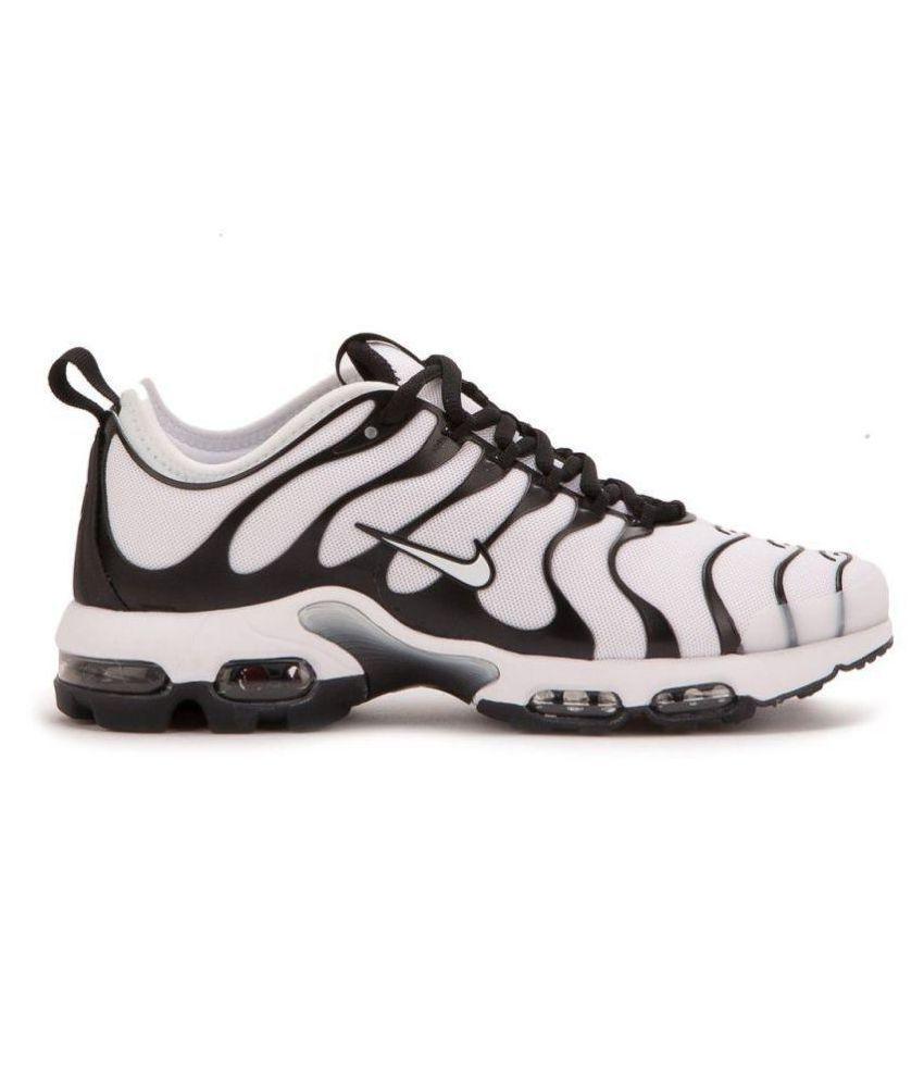 brand new 98de7 55744 ... Nike AirMax PLUS TN ULTRA TRIPLE White Running Shoes ...