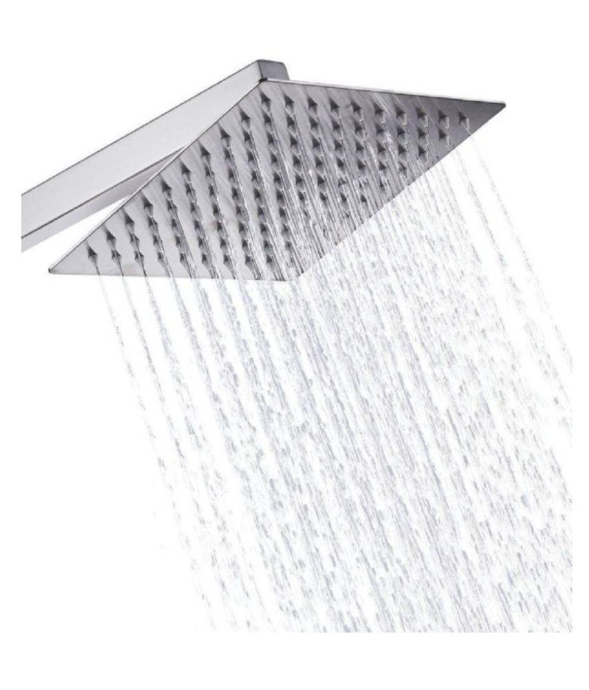 Buy Prestige 6x6 Bath Fittings Stainless Steel Overhead
