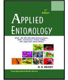 Applied Entomology: Icar Jrf Ars Saus Entrance Exams Upsc Civil Services Prelims 2Nd Edn