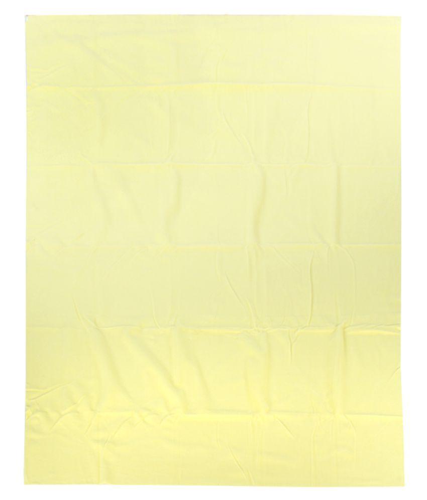 Mee Mee Yellow Cotton Sleeping Mat ( 30 cm × 10 cm)