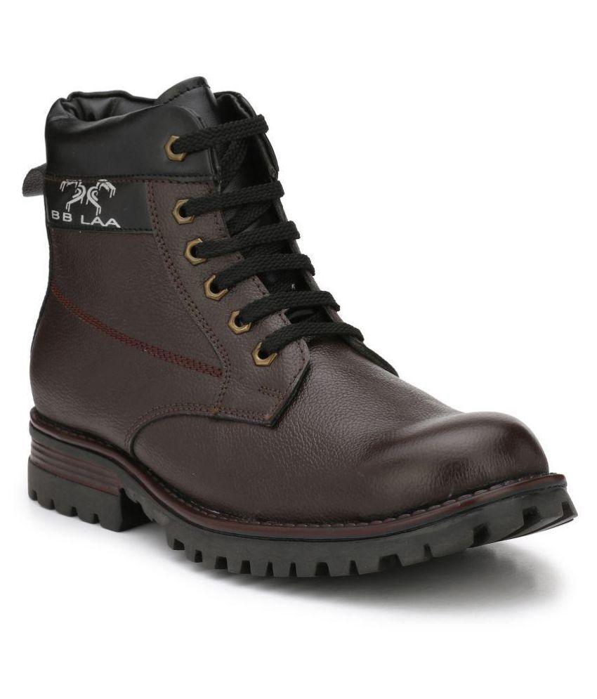 BB LAA Brown Casual Boot