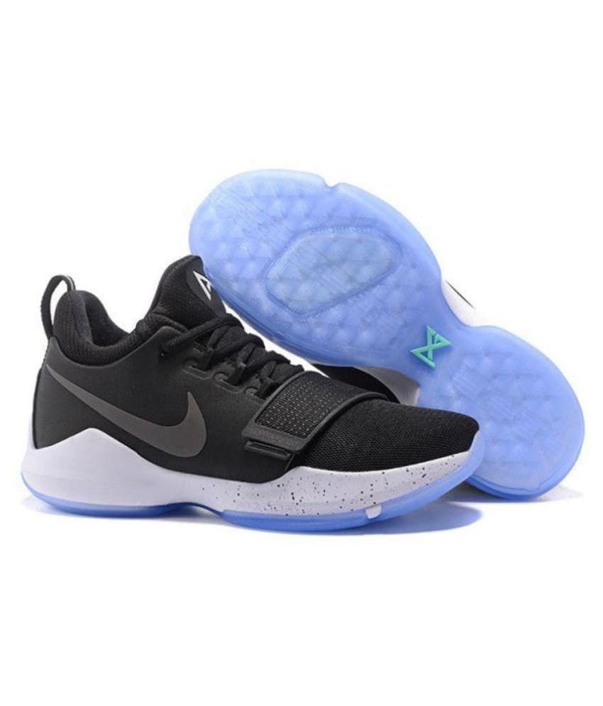 hot sale online bd787 a4756 Nike PG 1 PRE HEAT Black Basketball Shoes - Buy Nike PG 1 PRE HEAT Black  Basketball Shoes Online at Best Prices in India on Snapdeal
