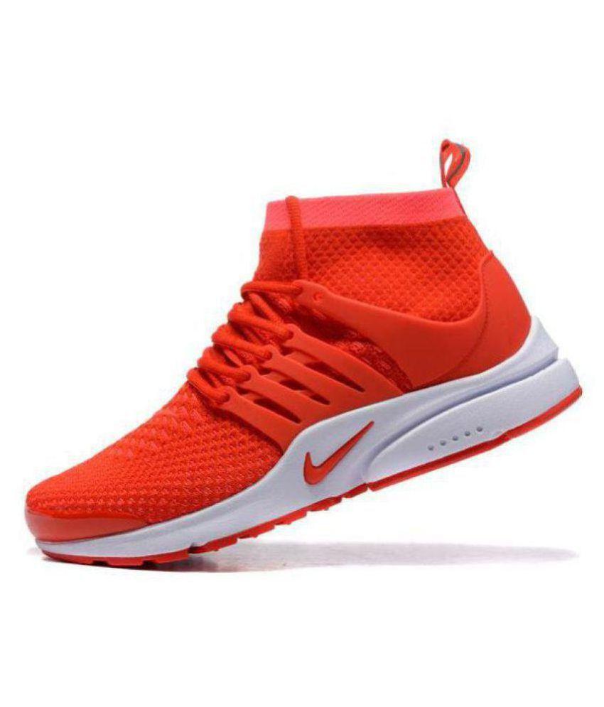 Nike Air Presto Red Running Shoes - Buy Nike Air Presto