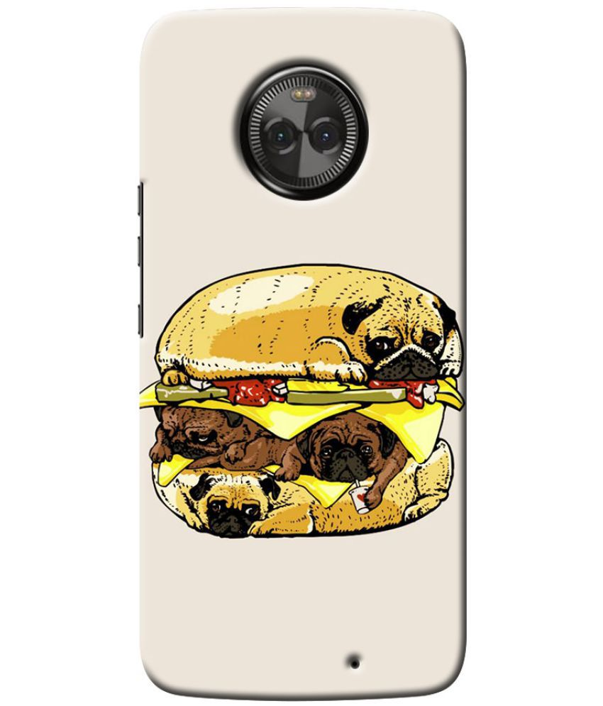 Motorola Moto X4 Printed Cover By Case King
