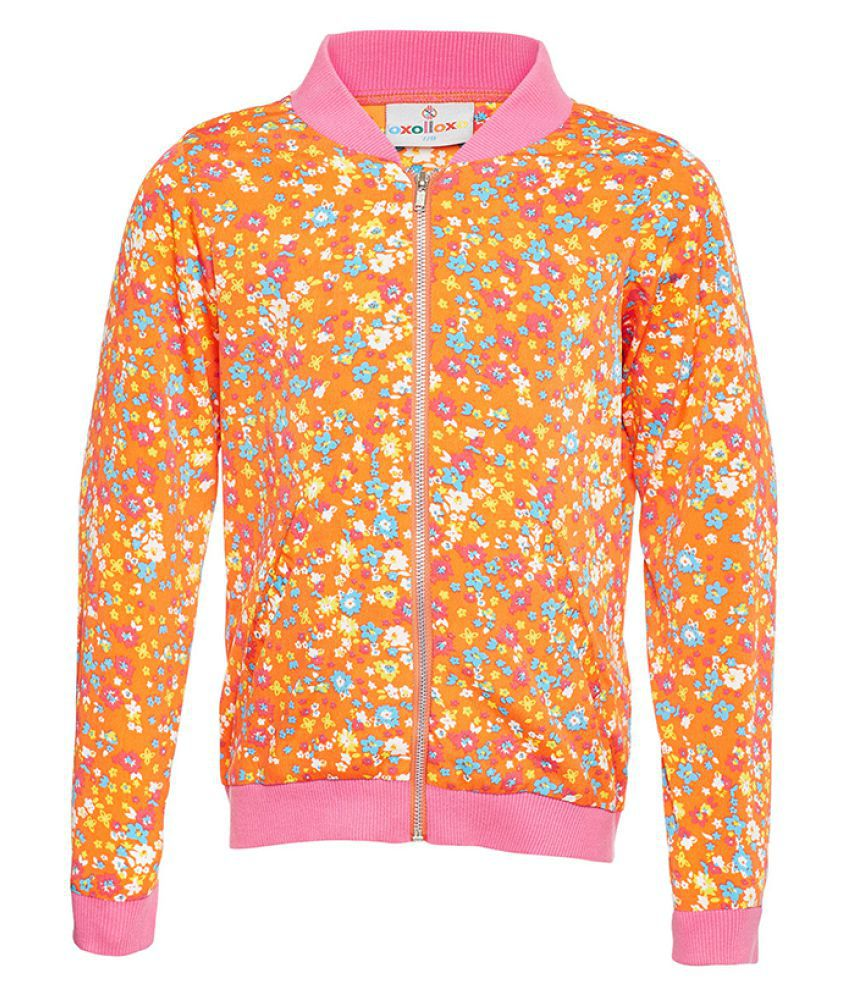 Floral Sylised Winter Jacket