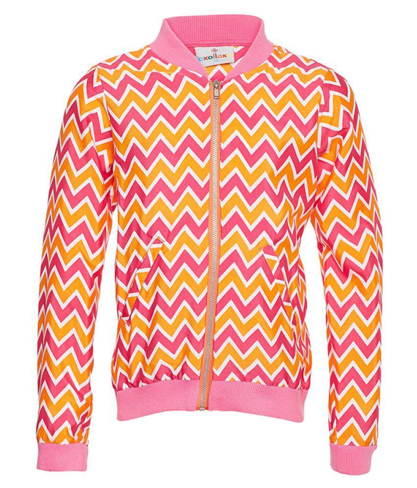 Geometric Printed Winter Jacket