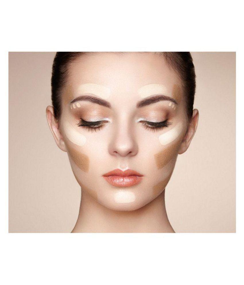 Mac 10 Shades Professional Makeup Concealer Palette Hyper Real Face Foundation