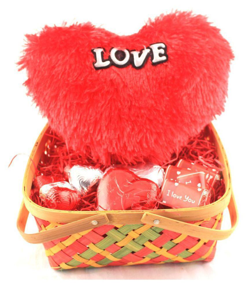 Zoroy Luxury Chocolate Valentines Day Chocolate Basket Love Gift 150 gm