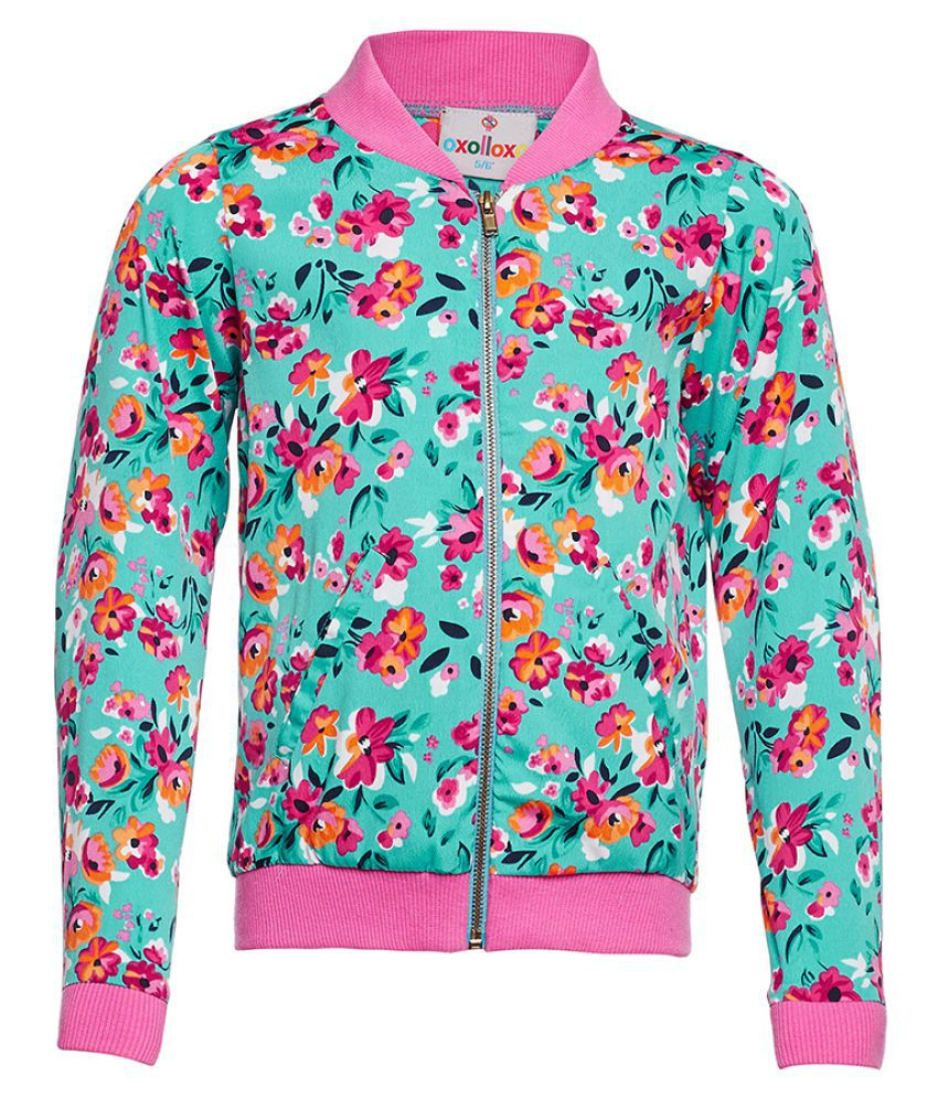 Floral Stylised Winter Jacket