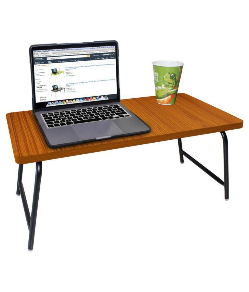 Gizga Essentials Laptop Table For Upto 38.1 cm (15) Golden