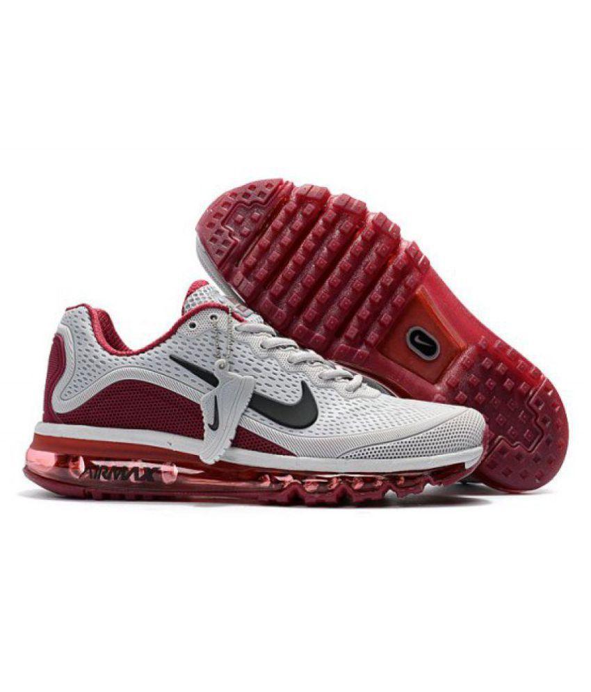 ... Nike Air Max 2018 Gray Running Shoes ...