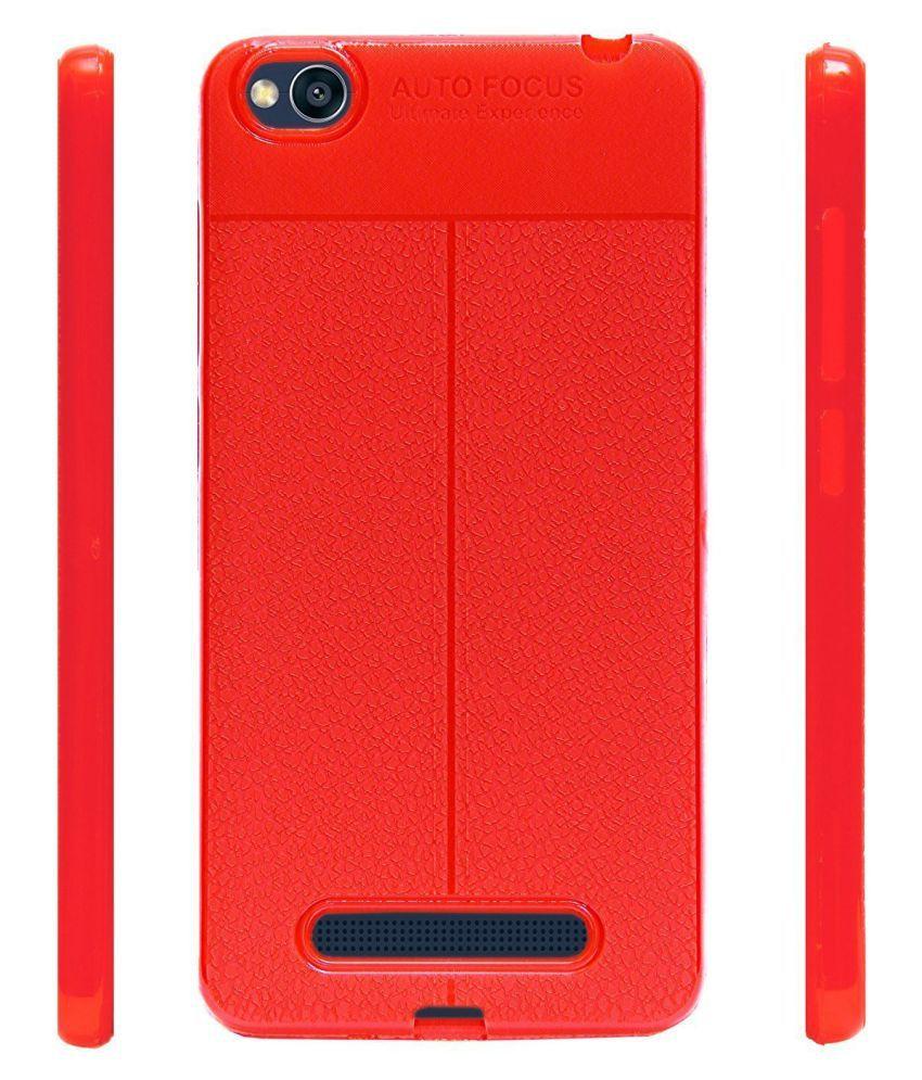 timeless design 5a428 9b67f Redmi 5a Back cover [AUTO FOCUS] Soft Silicone Flexible Back Cover ...