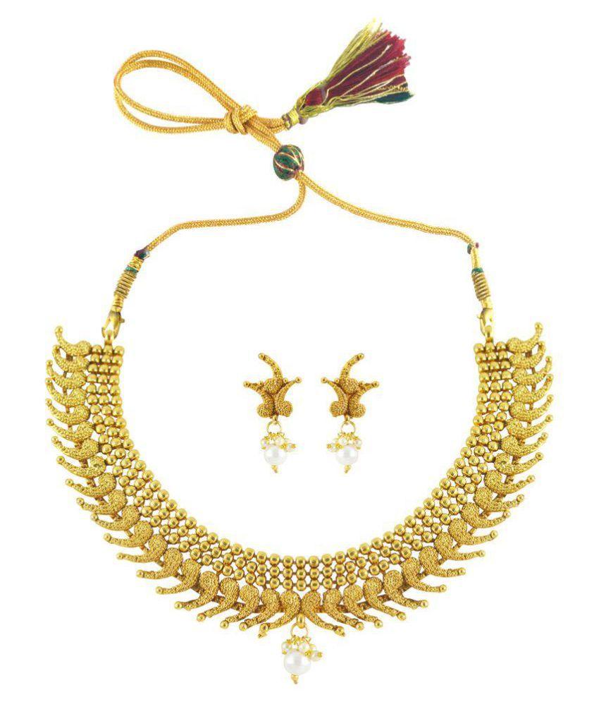 Rejewel Lovely antique necklace set for Girl
