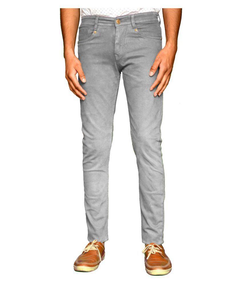Szovet Grey Slim Jeans