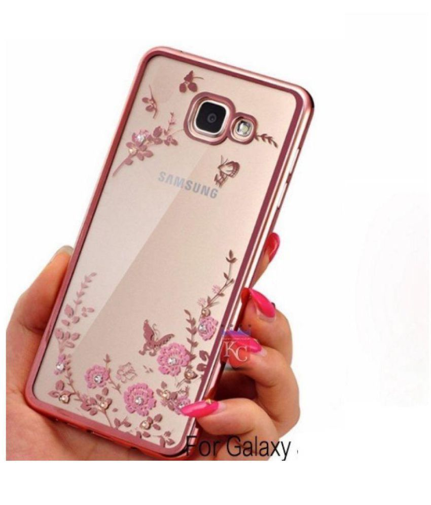 new arrivals 673cc 14d30 Samsung Galaxy A9 Pro Soft Silicon Cases FONOVO - Rose Gold