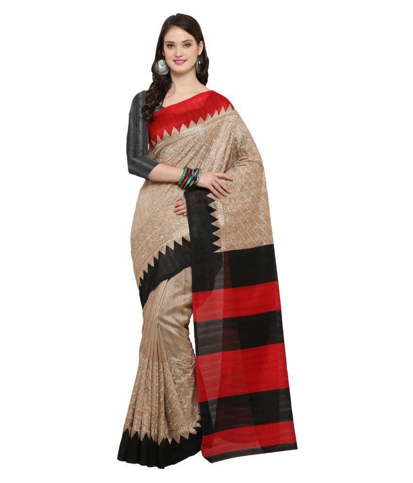 Rachna Multicoloured Bhagalpuri Silk Saree
