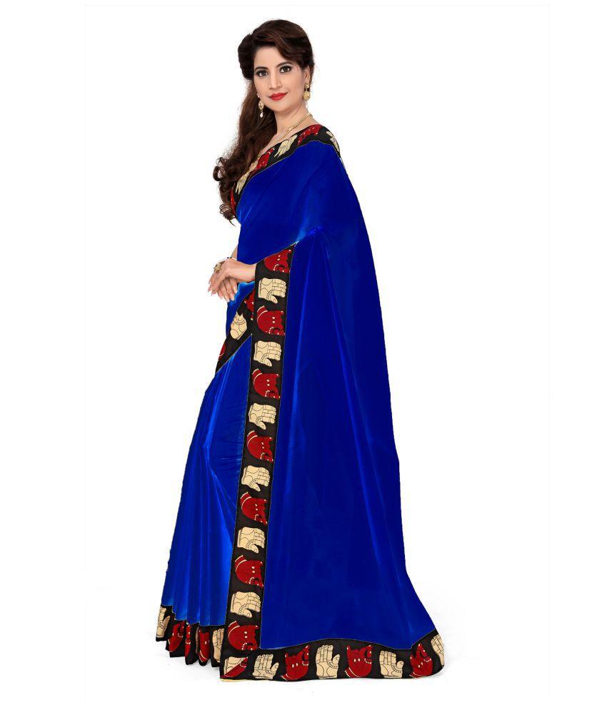 Tanya Designer Multicoloured Chanderi Saree