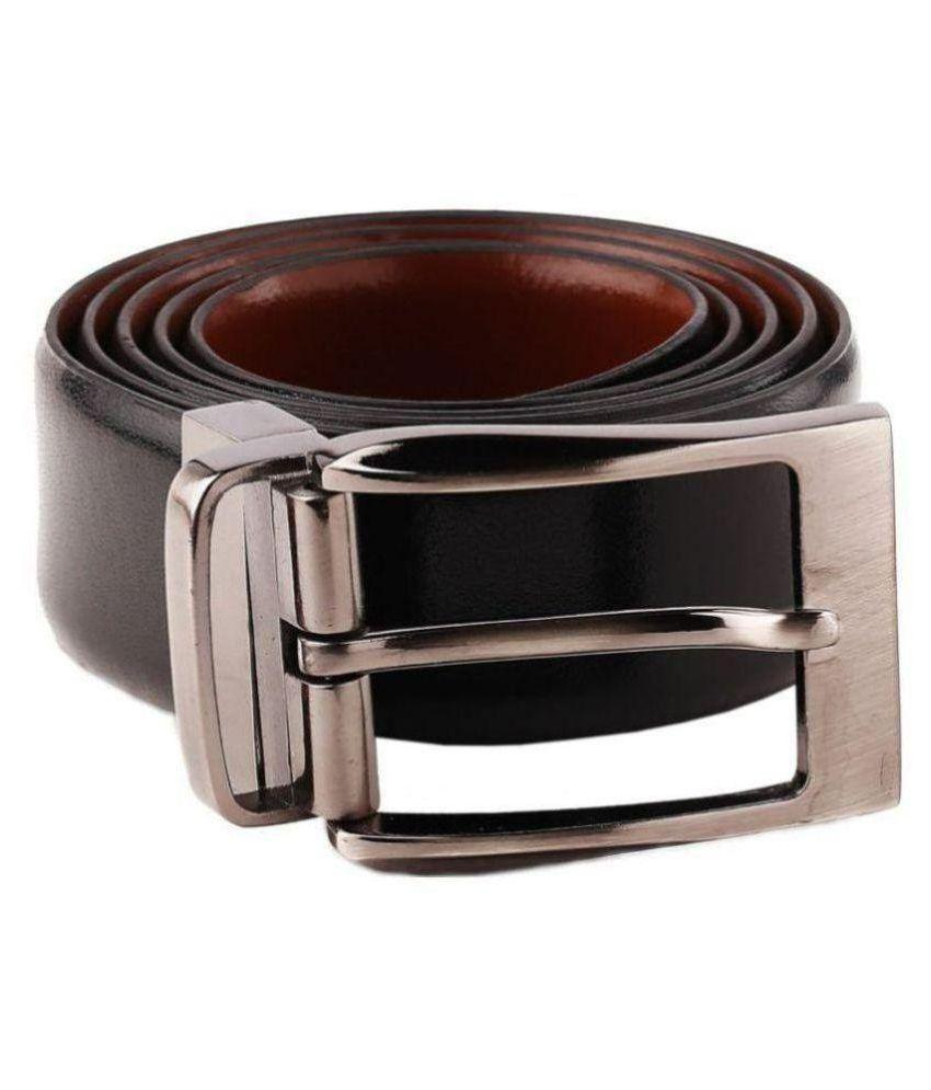 Woodland Scenics Black Faux Leather Formal Belt