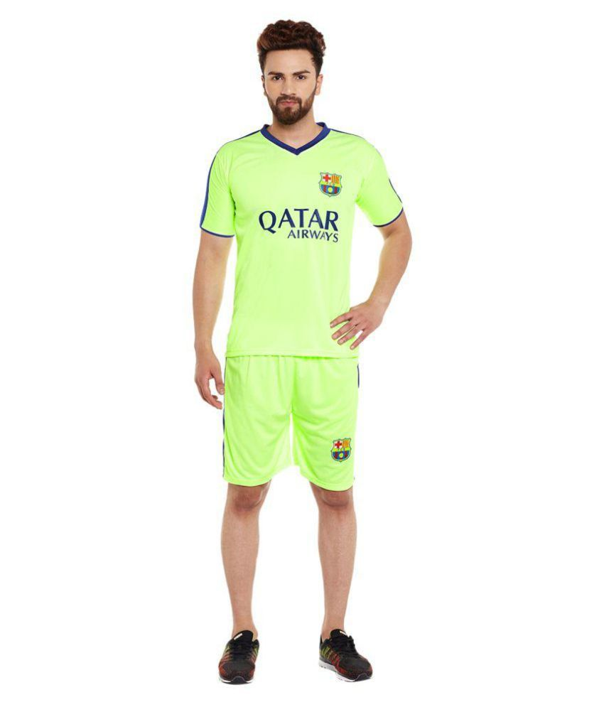 Sportigo Green Polyester Jersey