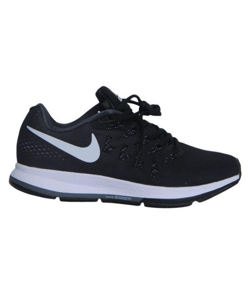 3a23e0e2e8c76 Nike Zoom pegasus 33 Black Running Shoes - Buy Nike Zoom pegasus 33 ...