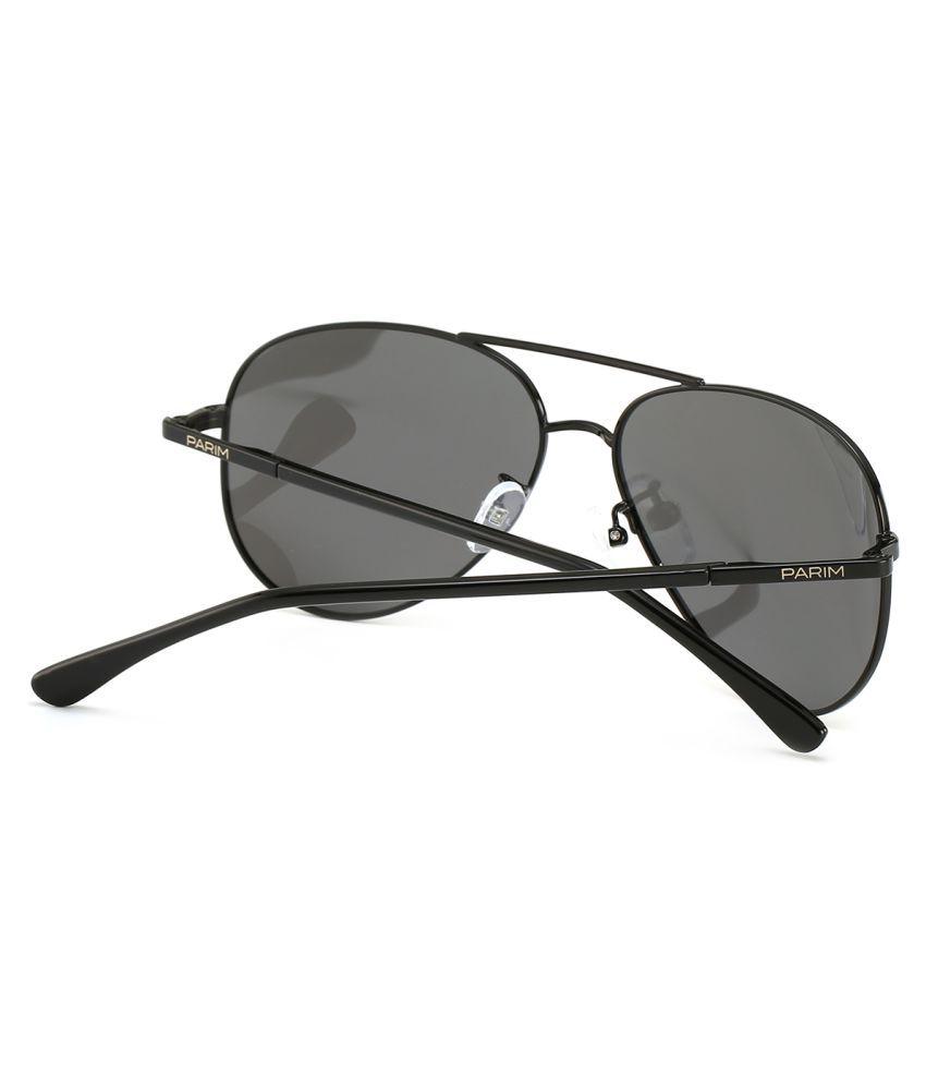 3cb65565c07 Parim Grey Aviator Sunglasses ( 12005 B1 ) - Buy Parim Grey Aviator ...