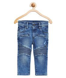 United Colors of Benetton Blue Denim With Darts And Pintucks - 16A4DENC0031I902EL