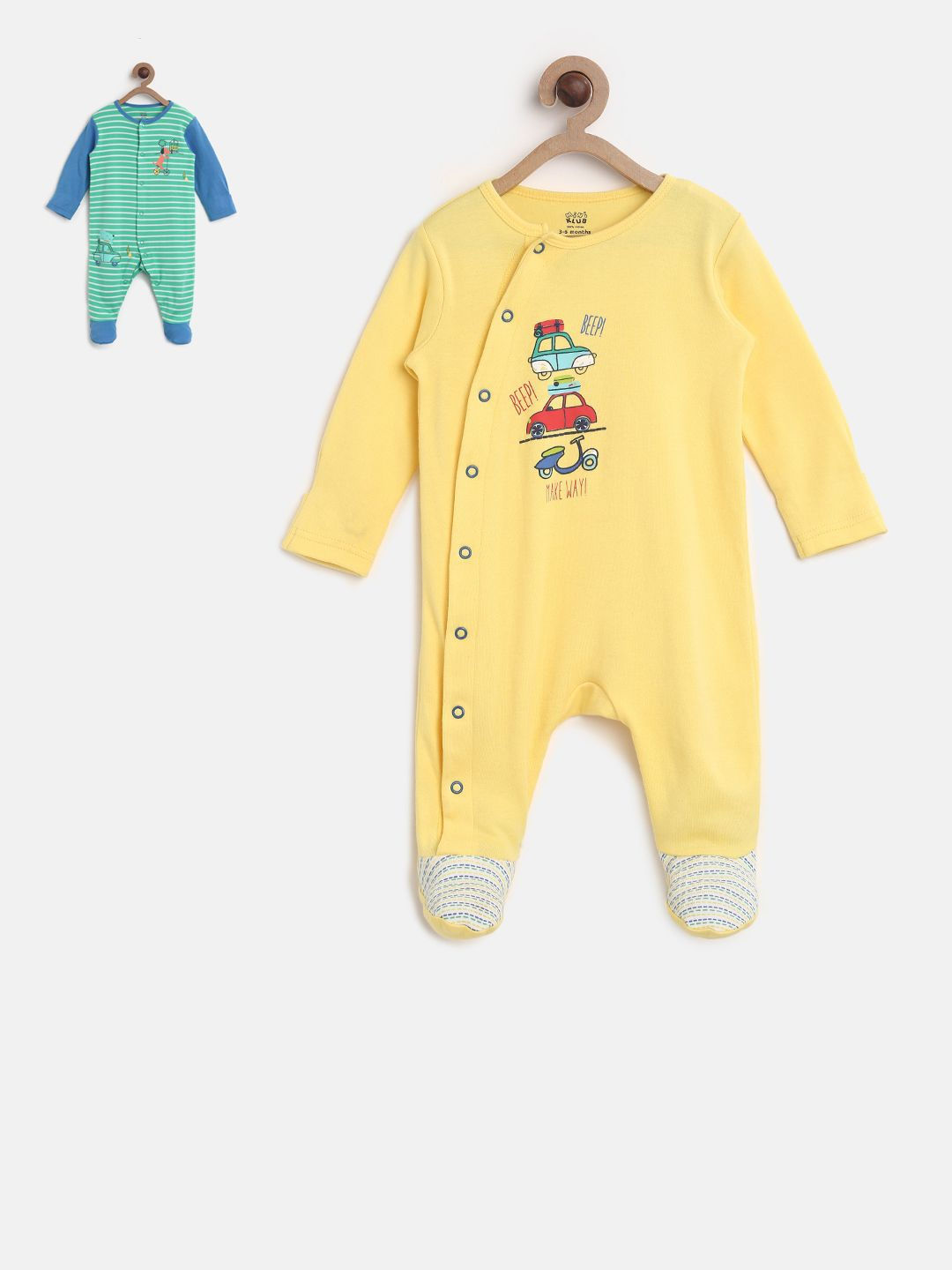 Care Baby Boys Sleepsuit 2-Pack
