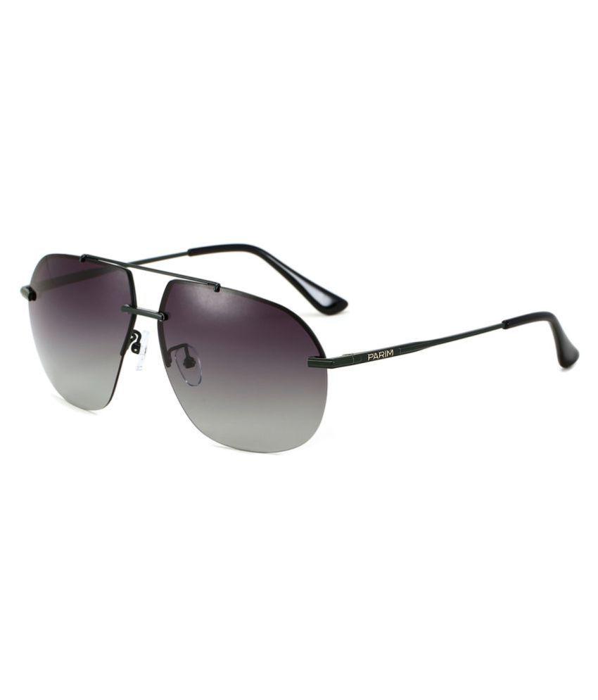 70aa825854 Parim Grey Aviator Sunglasses ( 1185 G1 ) - Buy Parim Grey Aviator  Sunglasses ( 1185 G1 ) Online at Low Price - Snapdeal