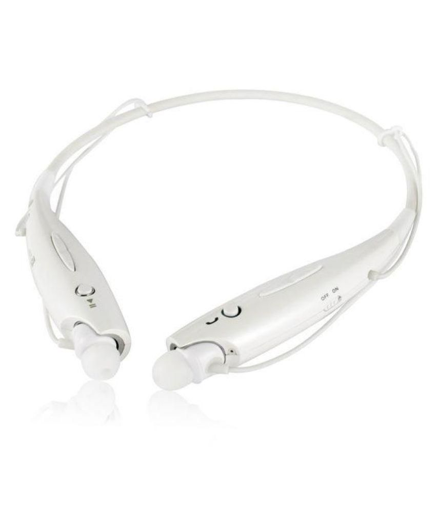 e656e248c37 Beliesiah Onlite HP-10 Bluetooth Headset - White - Bluetooth Headsets Online  at Low Prices | Snapdeal India
