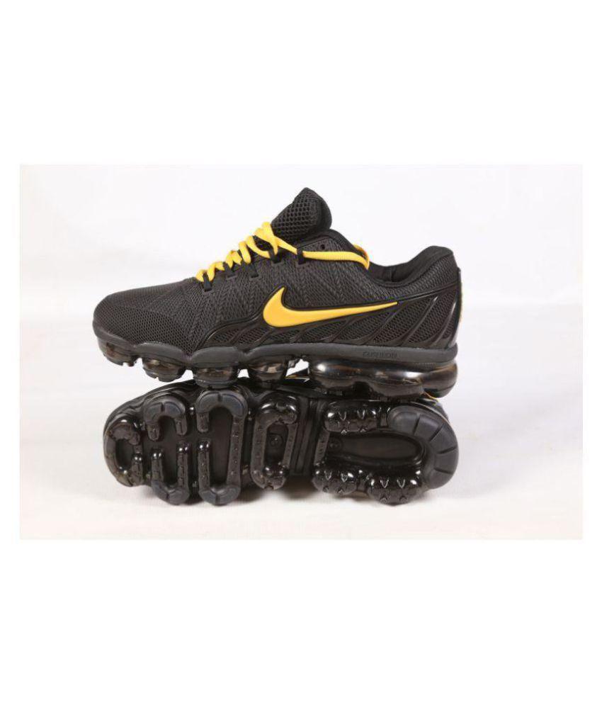 c8c0d75187533 Nike Air Flyknit Vapormax 2018 Black Running Shoes - Buy Nike Air ...