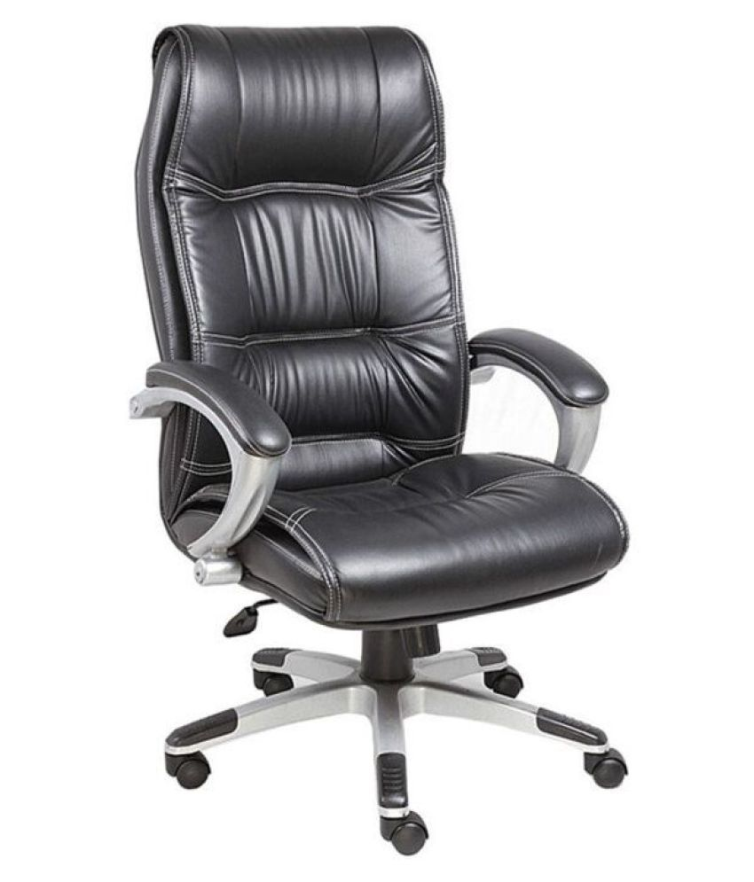 nice goods high back executive chair buy nice goods high back executive chair online at best. Black Bedroom Furniture Sets. Home Design Ideas
