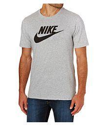 Nike Grey Round T-Shirt