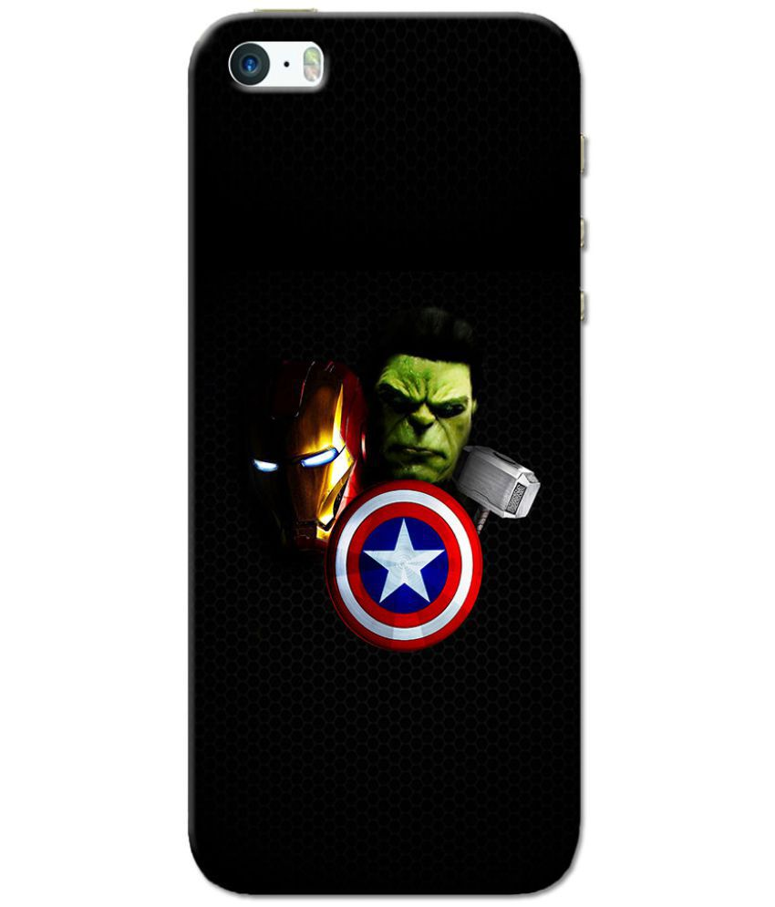 Apple iPhone 5S Printed Cover By Case King