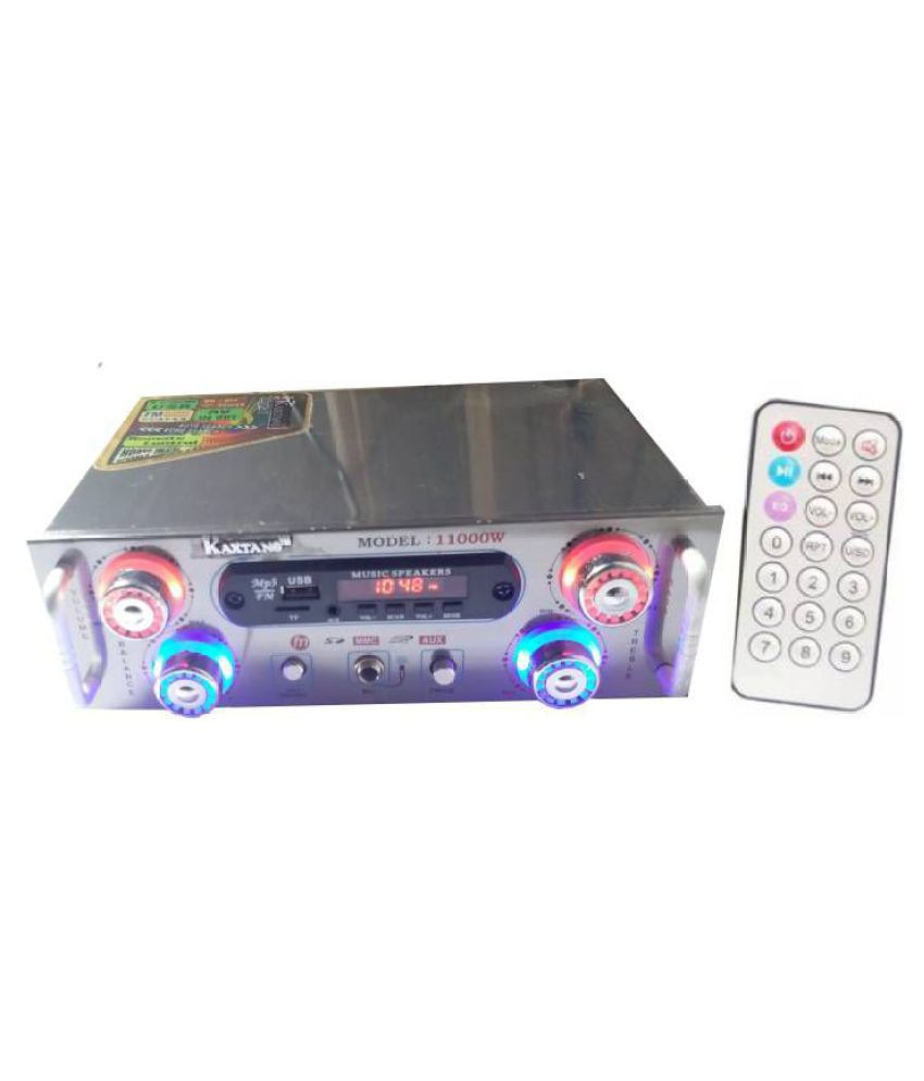 KAXTANG silver Digital Stereo With USB 11000W 6-Channel Amplifier