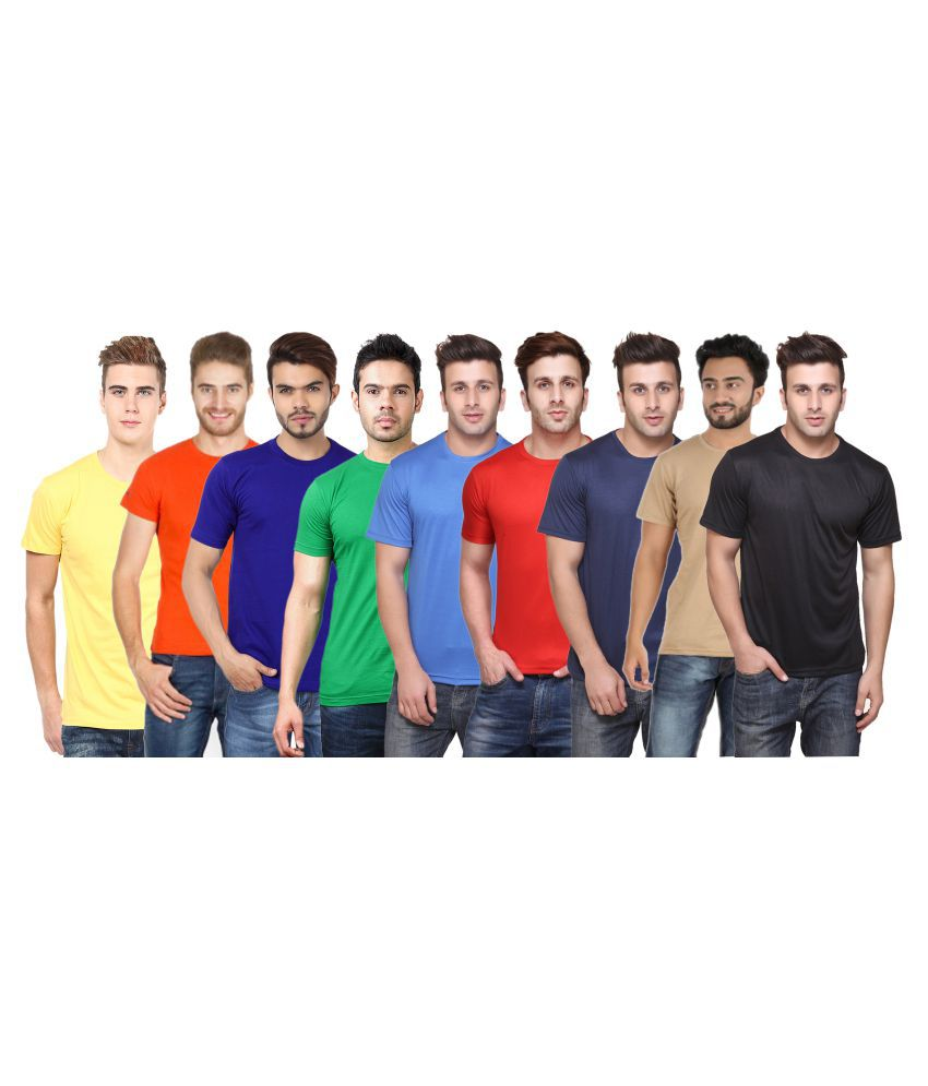 CONCEPTS Multi Round T-Shirt Pack of 9